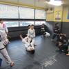 火曜日キッズ柔術クラス、一般柔術クラス。