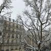 パリの雪と2度目のお誕生日パーティー
