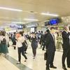 札幌駅の夕方はこんな感じ