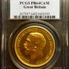 イギリス1911年ジョージ5世5ポンド金貨PCGS PR64CAM