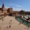 【スペイン旅行】セビリア:美しいスペイン広場と月曜日は無料開放のオロタワー。