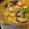 キャンプ飯 土鍋で牡蠣の炊き込み御飯作ってみた。