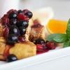 【砂糖不使用でフレンチトーストを楽しむ】2種類のはちみつを使い分ける