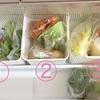【節約の工夫】献立に迷いにくく、食材を使い切る冷蔵庫収納。