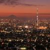 アイ・リンクタウン展望施設から、東京のドラマチックな夕景を撮る