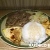 【台湾 食べ物】植立餐飲の蠔皇沙朗飯 @西門町