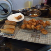 幸運な病のレシピ( 2188 )昼:春巻き(手作り)、鶏唐揚、焼きそば