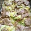 豚ヒレと白菜のクリーム煮