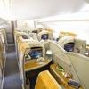 エミレーツ航空A380ファーストクラス搭乗記【バンコク=香港】