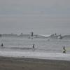 日曜の茅ヶ崎は波数少ないけど良波でした♪
