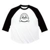 注文確定後製品へのプリント作業にはいります。アザラシプリント七分袖Tシャツ