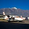 エベレストトレッキング13日目ルクラ2840m→カトマンズ 世界一危険な空港から帰ります。