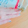フェリシモのジェル風ネイルシールが簡単楽ちん!!!