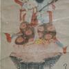 月待(つきまち)の掛軸、十九夜講中の如意輪観音
