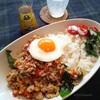 タイ香り米をお鍋でおいしく炊くコツ!ガパオライス。ハムとルッコラで、甘くないフレンチトーストの朝。器の修繕。ひたむきに。