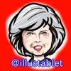 iPadproで描いた メイ首相の似顔絵と似顔絵が出来上がるまで。