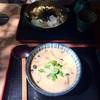 深大寺 大師茶屋の豆乳蕎麦