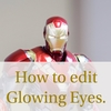 How to edit Glowing Eyes for Ironman