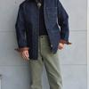 デラックスウエア 大人気7640デニムシャツのジャケットタイプが入荷しました♬