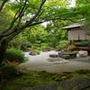 庭園49 御香宮神社書院庭園 小堀遠州ゆかりの石庭