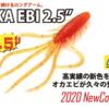 【レイドジャパン 】ロングアームのエビワームが久々の生産「オカエビ 2020年カラー」発売!
