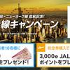 JAL / 羽田-ニューヨーク線就航記念!北米線キャンペーン(JAL旅行券3万円分など)