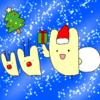 クリスマスうさぴよ