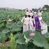 お気に入りインスタ映えスポット10選で写真を撮る方法 in Hanoi