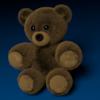 Blender 223日目。「クマのぬいぐるみのモデリング」その3(終)。