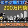 ビットコイン290万円突破‼️2021年はBinanceSmartChainが注目される?