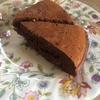 炊飯器でしっとり、チョコバナナケーキ