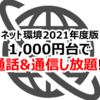 【通信費編】Bライフ生活費内訳【2021年版】