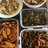 韓国料理の作り置きおかず。と、豚キムチでビビンバ