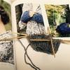 amirisuで購入した糸でハンドウォーマーを制作中