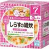 ベビーフード紹介004 Wakodo しらすの雑炊(モグモグ期)