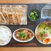 甘辛豚バラ大根|餃子|スパゲッティサラダ【晩御飯献立】