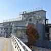 新旧JR熊本駅舎 整備と解体進む