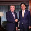 ニューヨーク来訪中の安倍首相と小泉大臣、同じホテルにお泊まり