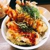 【げんき庵】ランチがお得な栄の人気店!甘いタレの天丼とラー油がかかったきしめんが最高に美味しい