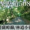 【動画】山梨県道508号大菩薩峠線・林道小菅線