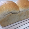 食パン(ライ麦入り)と白パン