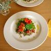 ナスタチウムの菜園サラダ