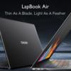 超薄型ノートパソコン――Chuwi LapBook Airのスペックレビュー