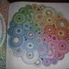 七色の花~『ひみつの花園 花いっぱいのぬりえブック』