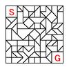 四角渡り迷路:問題12