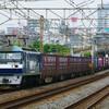 7月17日撮影 東海道線 平塚~大磯間 貨物列車撮影 ①