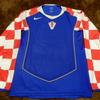 ユニフォーム 726枚目 クロアチア代表 2004-2005年 アウェイ用 長袖
