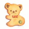 ゆるい形のクッキー
