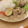 豚と夏野菜の中華風クリーム煮