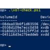 Windows Server で EBS ボリューム ID とデバイス名とドライブレターの関連を確認したい